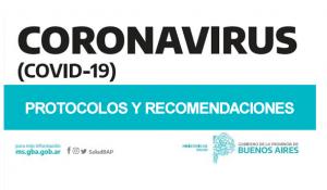 Protocolos y Recomendaciones Provincia de Buenos Aires.