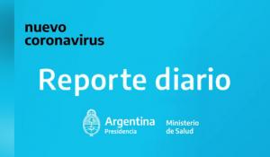 REPORTES DIARIOS SITUACIÓN DE COVID-19 EN ARGENTINA